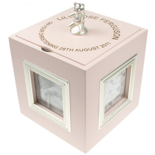 Jewellery & Watches New Baby Girl Gifts Personalised Engraved Quality Wooden Jewellery Box Gift Jewellery Boxes & Supplies